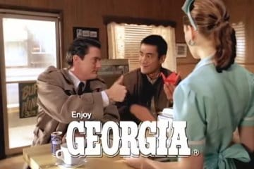 Twin Peaks: Georgia Coffee commercials