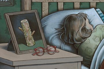 Good night, Sweet Log by Tara Krebs