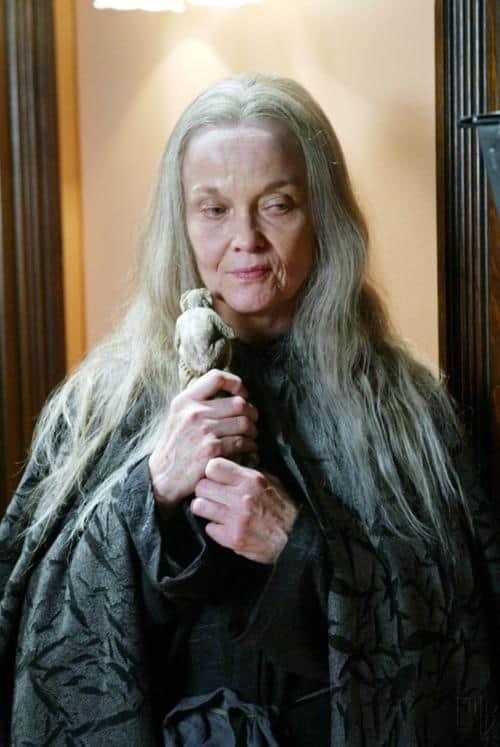 Grace Zabriskie as The Crone in Charmed