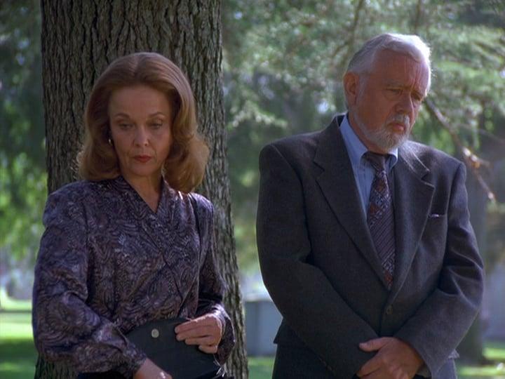 Grace Zabriskie and Warren Frost in Seinfeld