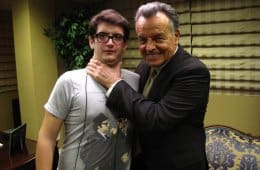 Guardian Angel crew member with Ray Wise