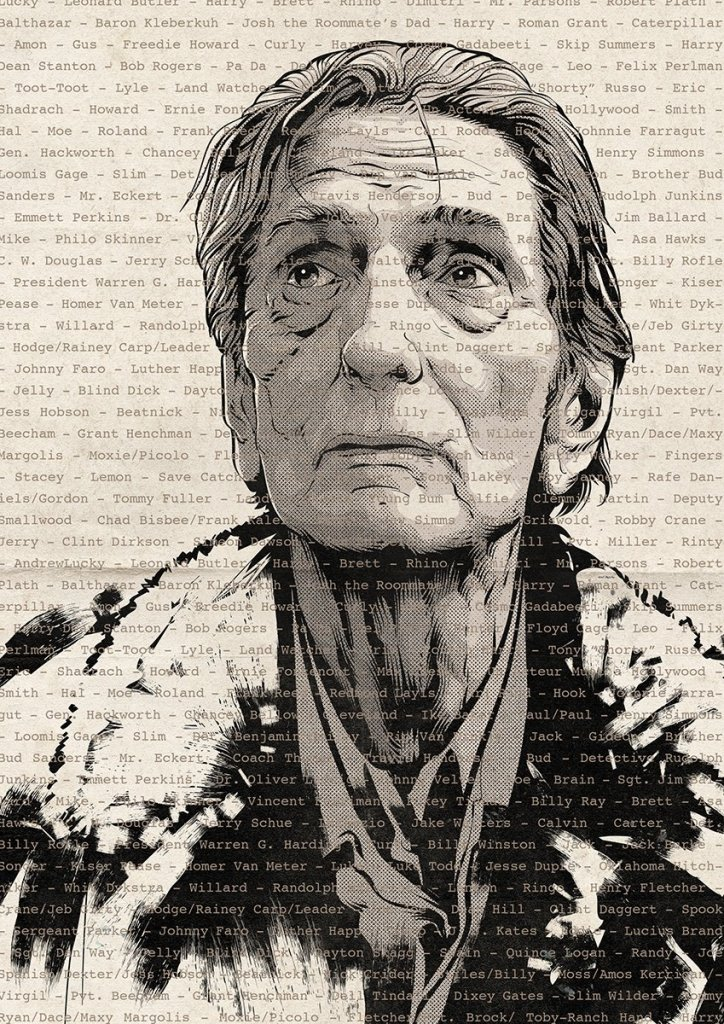 Harry Dean Stanton tribute by Cristiano