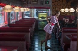Heather Graham as a diner waitress in Horns