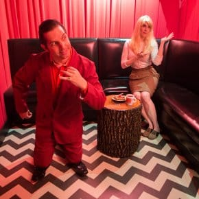 There's Always Music In The Air In The Black Lodge Karaoke Room