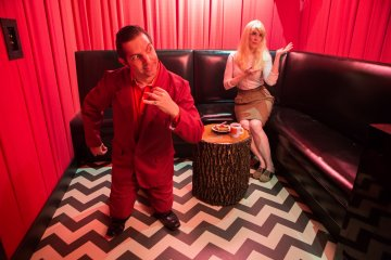 The Highball: The Black Lodge karaoke bar