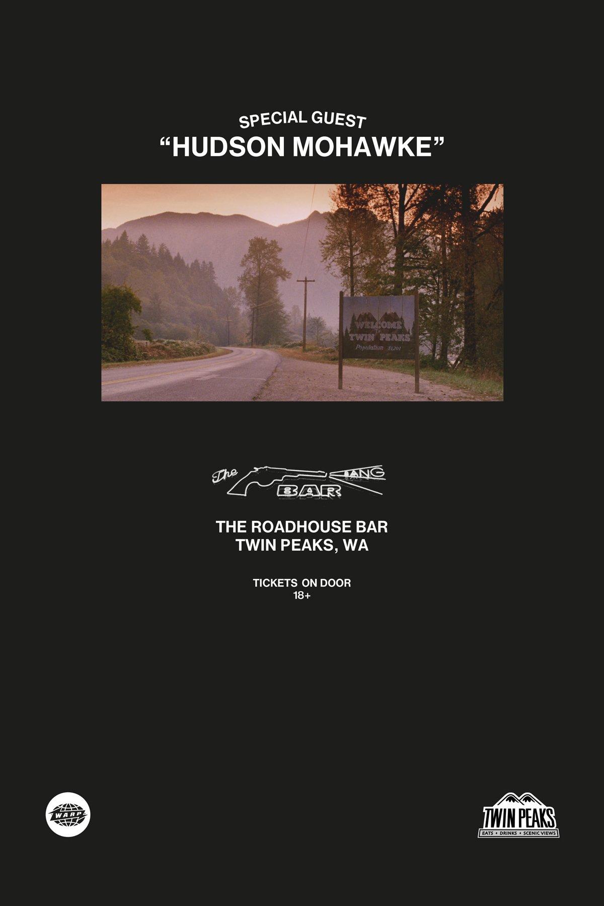 Hudson Mohawke - Human (Roadhouse, Twin Peaks)