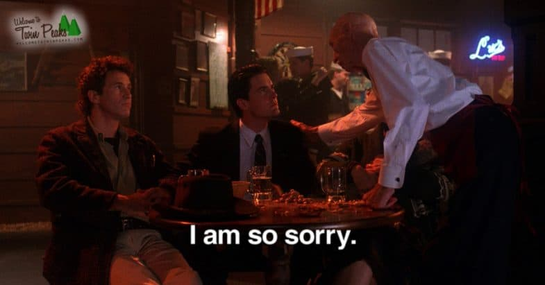 "David Lynch won't direct the new Twin Peaks: ""I am so sorry"""