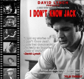David Lynch Presents Jack Nance Documentary, I Don't Know Jack (Video)