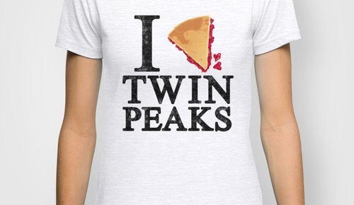 I Love Twin Peaks: Cherry Pie Edition T-Shirt