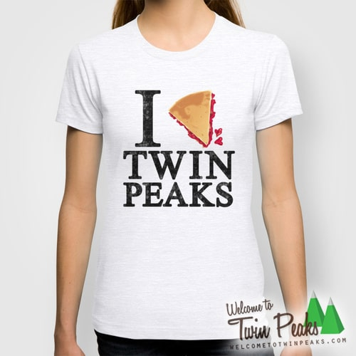I Love Twin Peaks: Cherry Pie T-Shirt