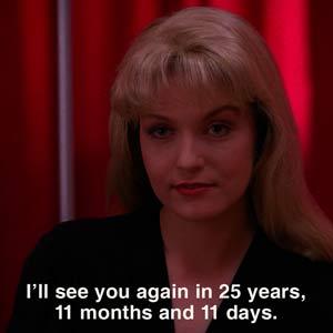 Twin Peaks countdown