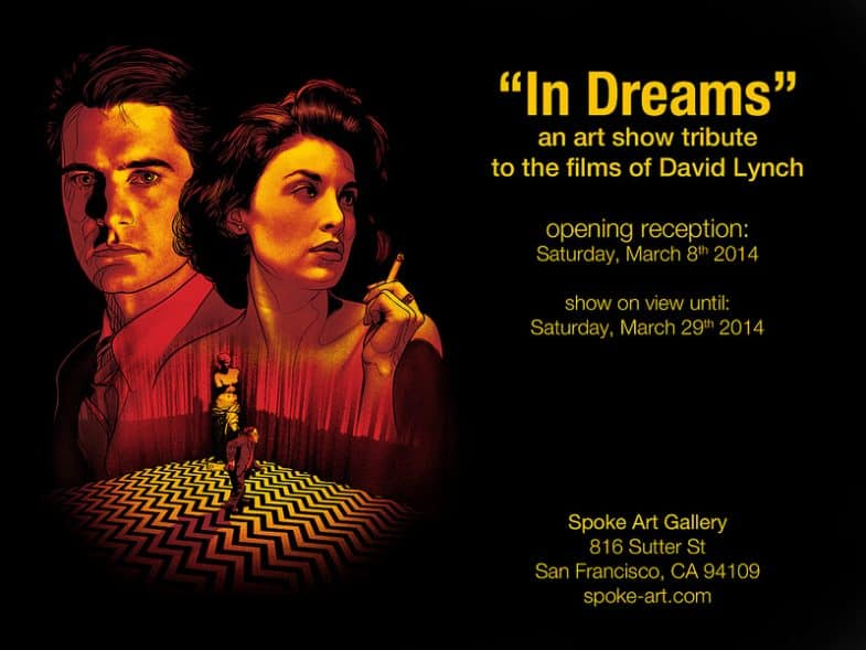 In Dreams: A David Lynch Art Show at Spoke Art Gallery