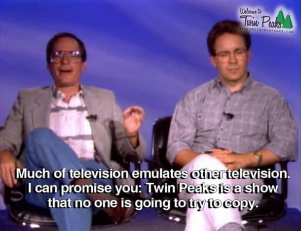 Inside Twin Peaks: Howard Rosenberg and Mark Frost