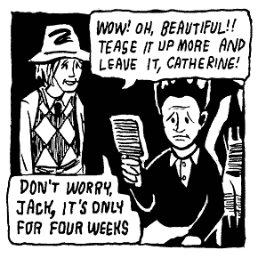 Jack Nance's Biography As A Comic Book
