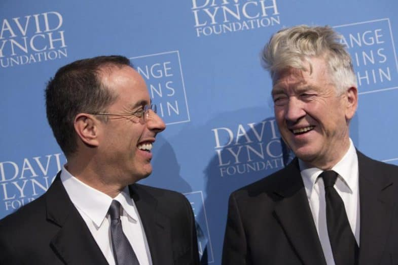 Jerry Seinfeld and David Lynch