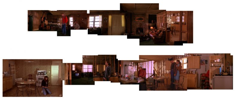 Leo and Shelly Johnson house: panoramic set