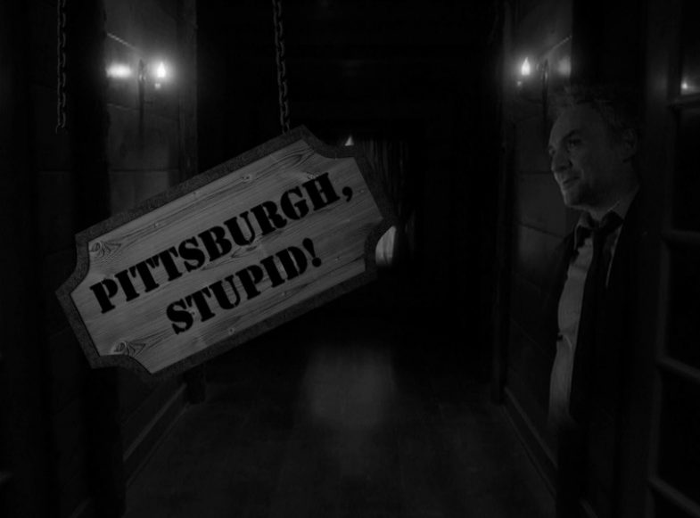 Pittsburgh. stupid!