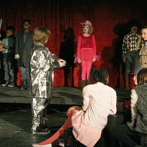Judy Plays With Fire, A Twin Peaks Inspired Elementary School Play