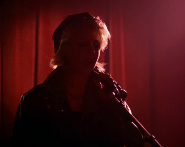 Julee Cruise at the Roadhouse in Twin Peaks