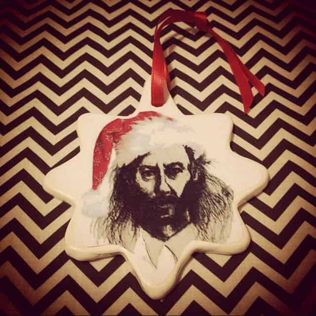 Killer BOB tree ornament made by Leah Alex Lehmann