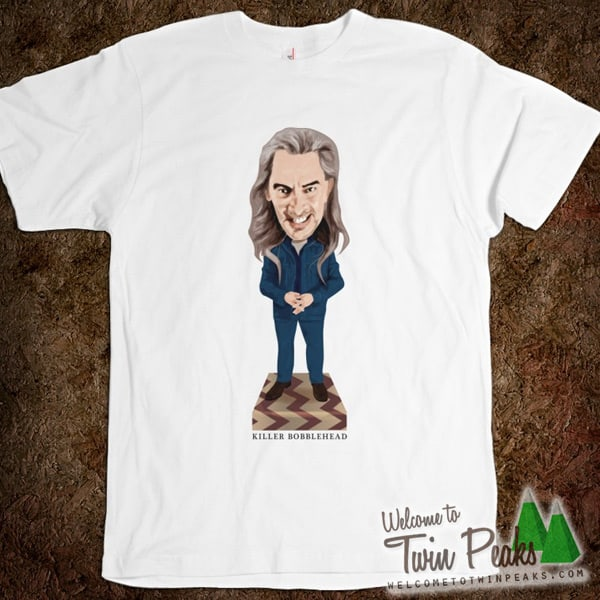 Killer Bobblehead t-shirt by welcometotwinpeaks.com