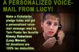 Your voicemail recorded by Kimmy Robertson (Lucy Moran)