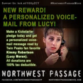 Best Kickstarter Reward Ever: Your Voicemail Message Recorded By Twin Peaks Sheriff Department's Receptionist, Lucy Moran