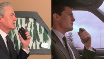 Kyle Maclachlan enters Twin Peaks as Dale Cooper on Twin Peaks Day 2020 to launch his TikTok account
