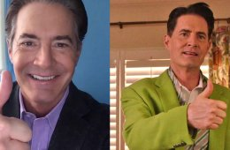 Kyle MacLachlan / Cooper / Dougie Jones / Lime green sports jacket