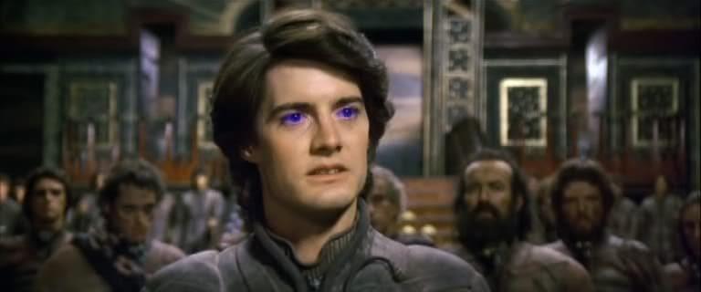 Kyle MacLachlan as Paul Atreides in David Lynch's Dune (1984)