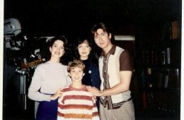 Michael and Lara Flynn Boyle, Sheryl Lee and Lenny von Dohlen