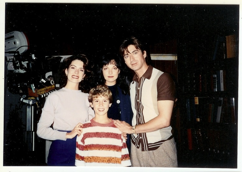 Michael and Lara Flynn Boyle, Sheryl Lee and Lenny von Dohlen