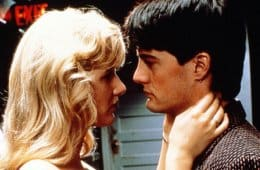 Laura Dern and Kyle MacLachlan in David Lynch's Blue Velvet
