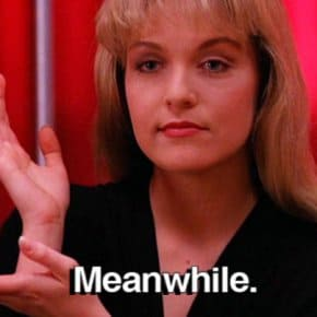 Win A Date With Laura Palmer And Dale Cooper 25 Years Later In The Black Lodge
