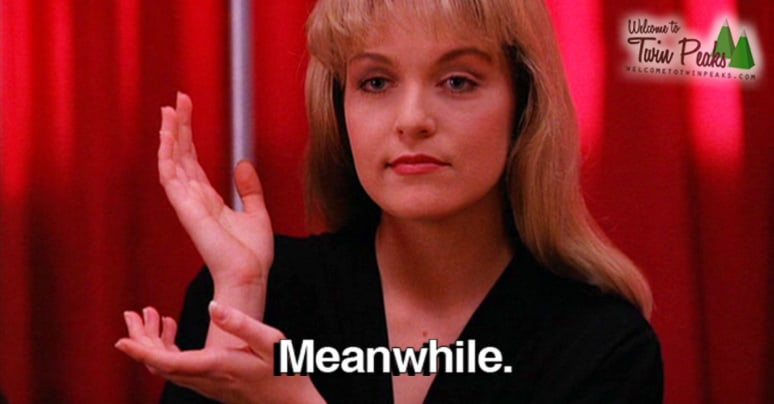 Win A Date With Laura Palmer And Dale Cooper In The Black