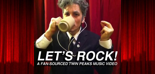 Let's Rock! A Fan-Sourced Twin Peaks Music Video For Angelo Badalamenti's Dance Of The Dream Man