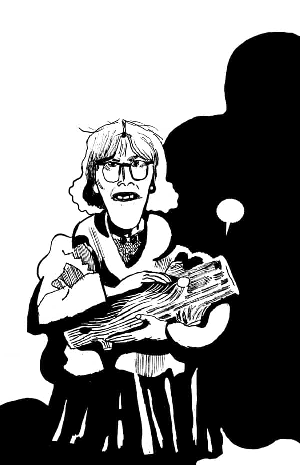 Log Lady by Andrew Schick