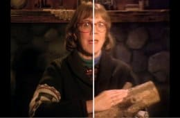 Log Lady intro in HD for the Twin Peaks Blu-ray