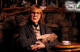 Catherine E. Coulson as the Log Lady in Pretty Little Demons music video