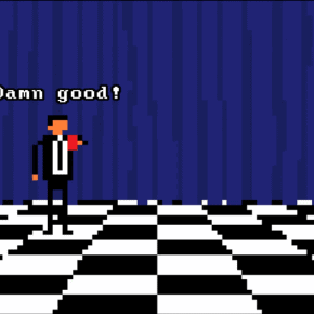 The Log Motel Incidence, A Twin Peaks Inspired Pixel Art Animation