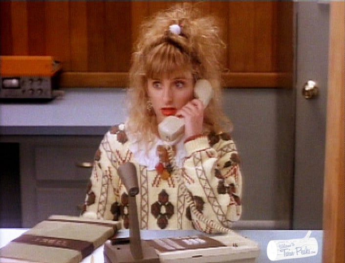 A personal voicemail message from Lucy Moran (Kimmy Robertson)