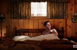Don Draper wakes up at The Great Northern hotel