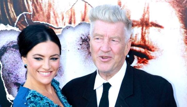 Mädchen Amick and David Lynch at The Missing Pieces premiere (photo by Ivars Ozols)