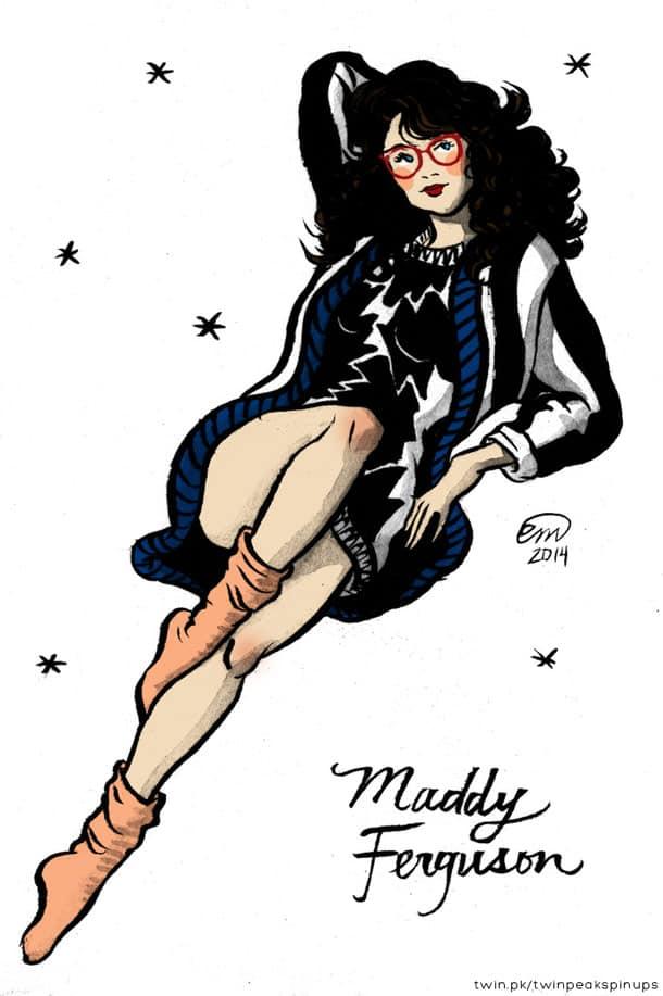 Maddy Ferguson pin-up girl