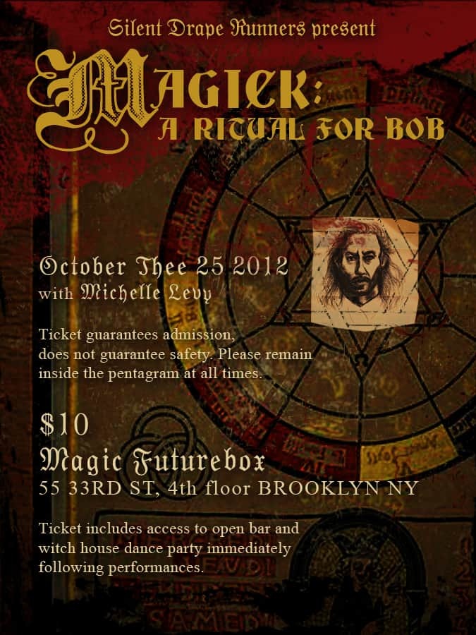 Magick - A ritual for BOB