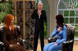 Leland Palmer sings Mairzy Doats in another Twin Peaks Sims remake