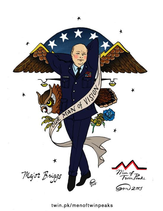 Major Briggs pin-up