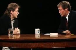 Mark Frost on Charlie Rose in 1993