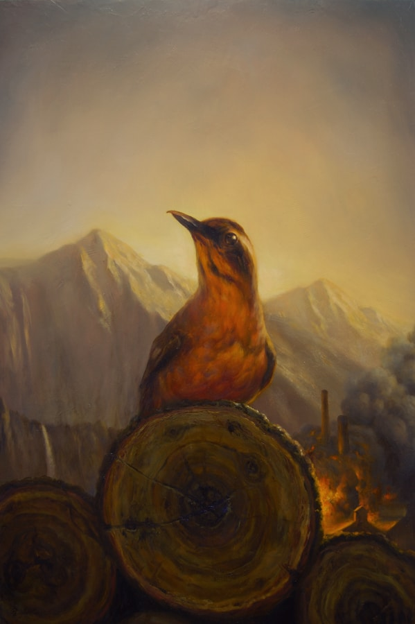 Martin Wittfooth - Fire Walk With Me