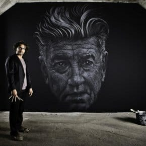 Time-Lapse Shows Genesis Of David Lynch Chalk Mural (Video)